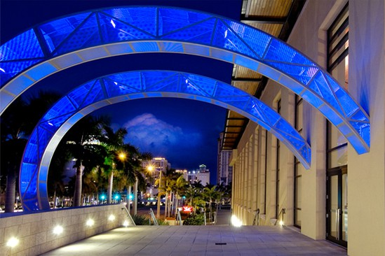 convention center arches